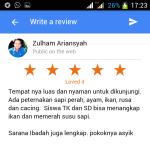 Cara Jitu Mendapatkan Review 5 Bintang di Google Bisnisku - review 2