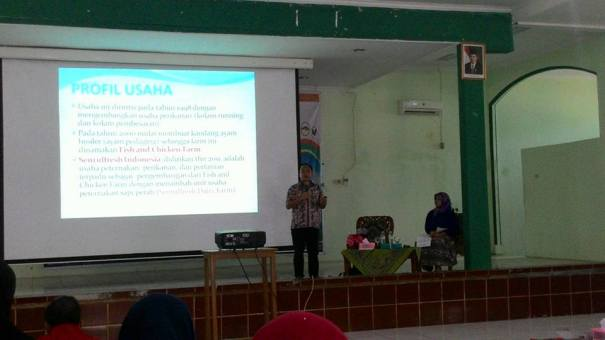 kuliah umum bersama Dr Dewi Sartika