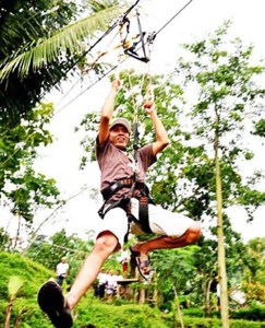 flying fox di sdit ibnu hajar