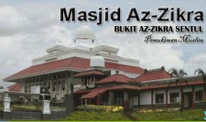 tarawih di masjid az zikra sentul city