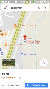 google bisnisku sentulfresh