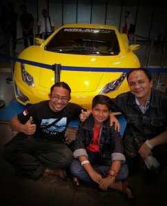 bertemu dengan Ricky Elson, penemu mobil listrik